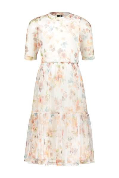 Like Flo Maxi Dress All Over Flower Print